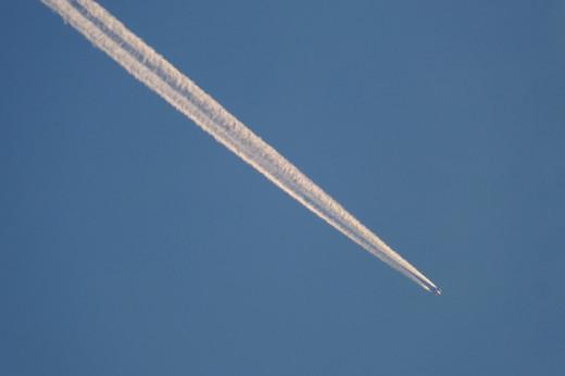 ¿Qué flota en el aire que respiramos?