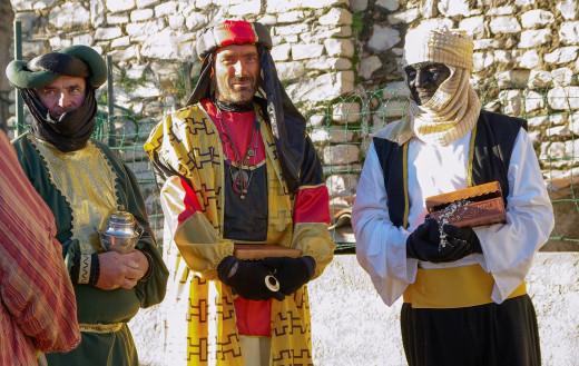 Los Reyes Magos agradecen la ayuda