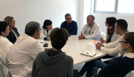Imagen de la reunión de coordinación.