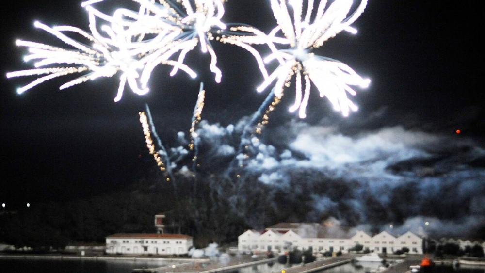 Imagen de los fuegos.