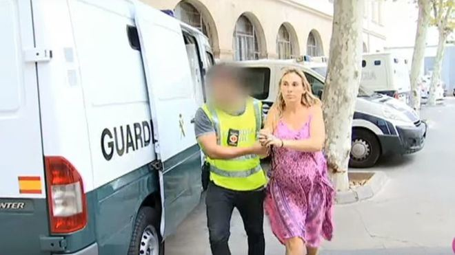 LauraCameron, una de las detenidas durante el pasado mes de Septiembre.