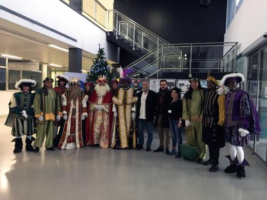 (Fotos) Los Reyes Magos también pasan por el Mateu Orfila