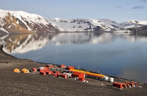 Imagen de la base española en la Antártida Gabriel de Castilla.