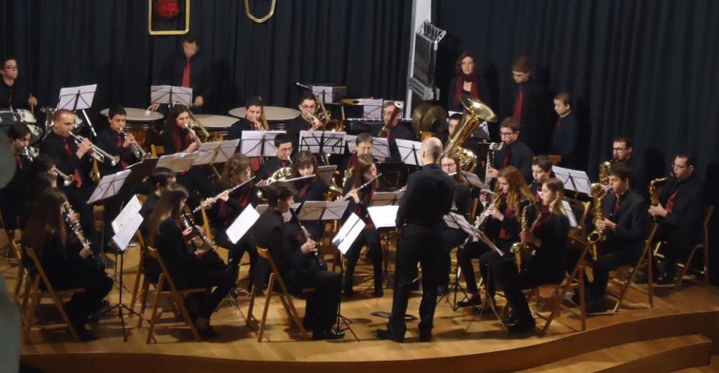 Imagen de archivo de la Banda de Música de Alaior.