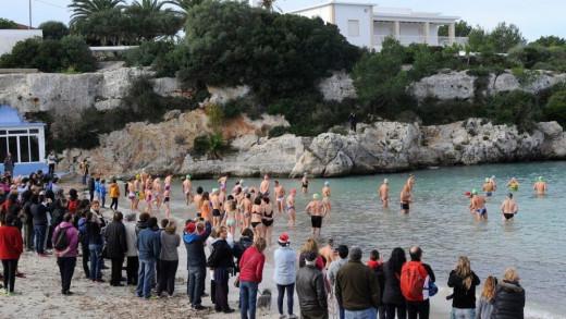 Imagen de una anterior Sant Silvestre en Ciutadella.