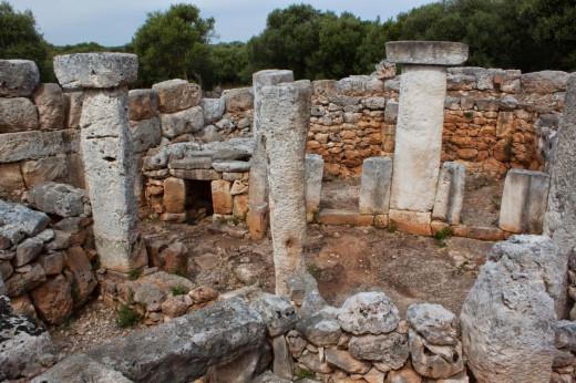 Torre d'en Galmés, yacimiento de referencia de la prehistoria de Menorca