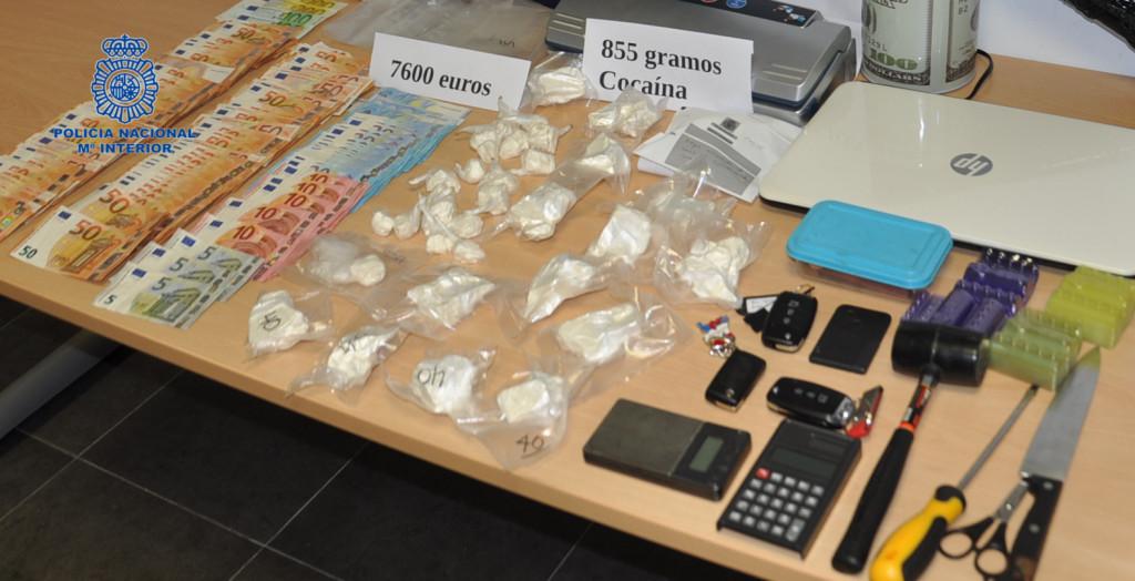 Imagen del material incautado (Foto: Policía Nacional)