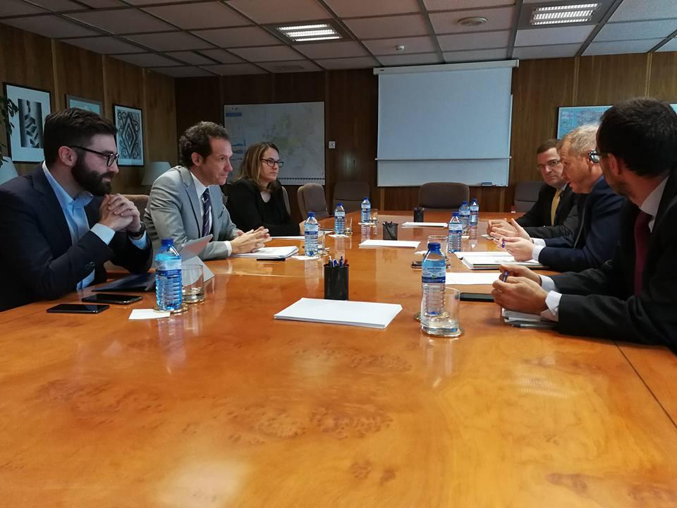 Cumbre energética en Madrid.