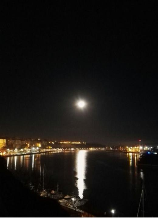 El eclipse lunar penumbral durará cuatro horas(Foto: Ramón Sintes)