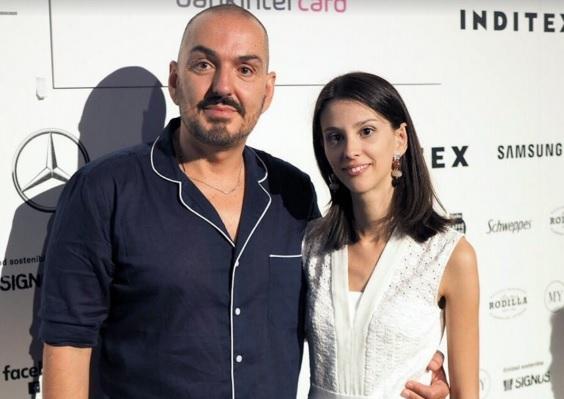 Tras la experiencia del año pasado el diseñador Duyos y Gloria Gomila vuelven a desfilar juntos en Cibeles.