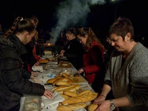 (Fotos) Noche de fuego y tambores en Ferreries