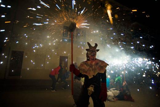 Imagen de una celebración de Sant Antoni (Foto: David Arquimbau)
