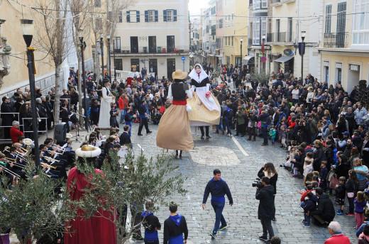 Actividades de cultura popular en Maó