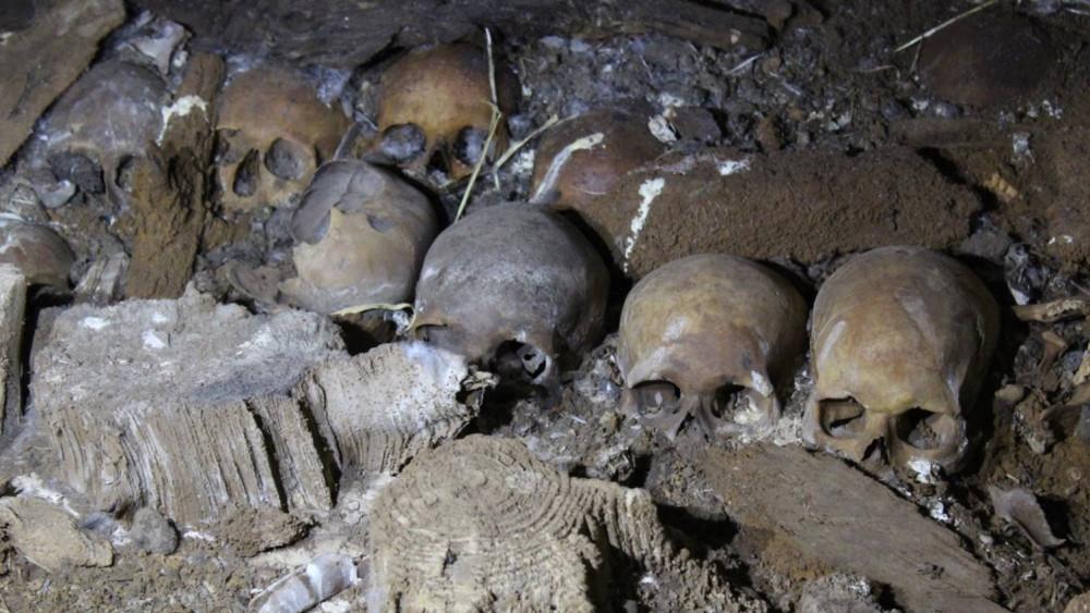 Los misteriosos ritos funerarios.