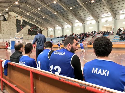(Fotos) Paliza del Bàsquet Menorca al ritmo de Jan Orfila