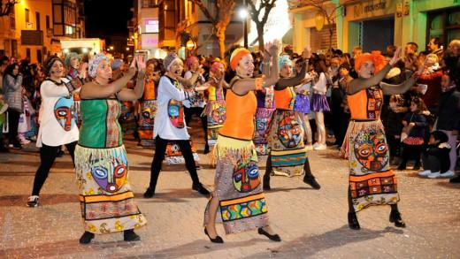 Imagen de archivo de la Rúa de Carnaval en Maó.