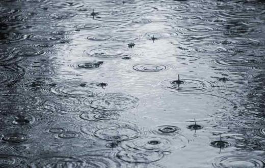 Imagen de lluvia.