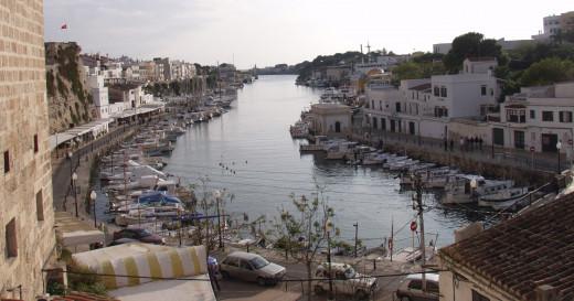 Puerto interior de Ciutadella (Foto: Tolo Mercadal)
