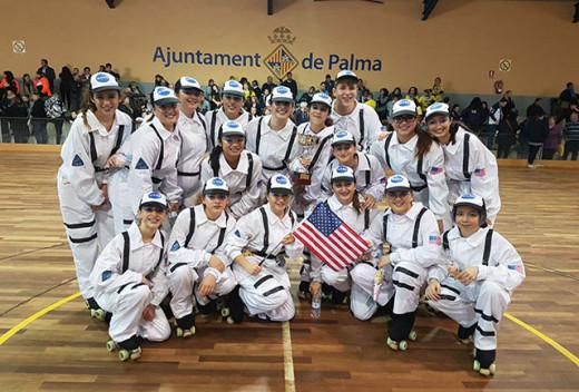 Imagen del equipo menorquín en Palma (Fotos: deportesmenorca.com)