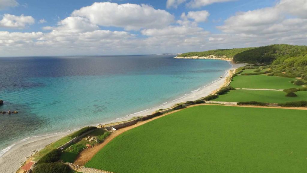 Imagen aérea de Binigaus (Foto: Turisme de les Illes Balears)