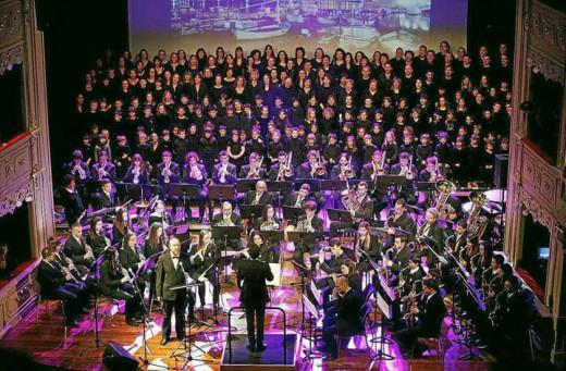 Banda de Música des Mercadal.