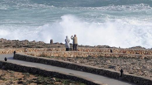 Los fenoómenos costeros dificultarán el tráfico marítimo (Foto: Tolo Mercadal)