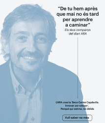 Carles Capdevila, referente educativo