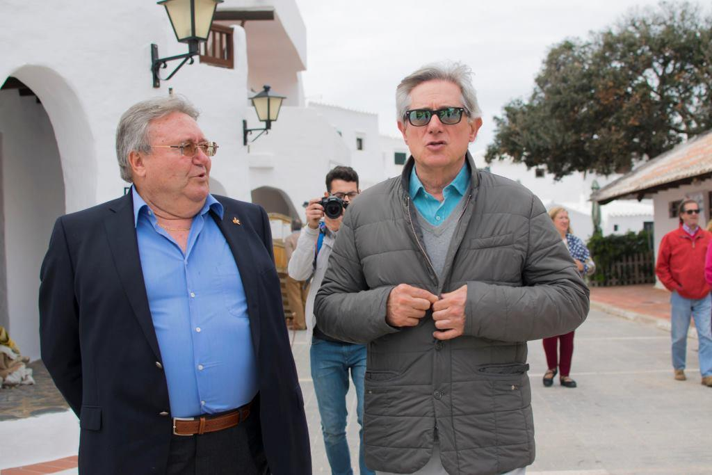 Juan Torres y Josema Yuste celebraron los 30 años de Bonín Sansó.