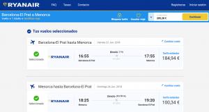 Reserva en Ryanair.