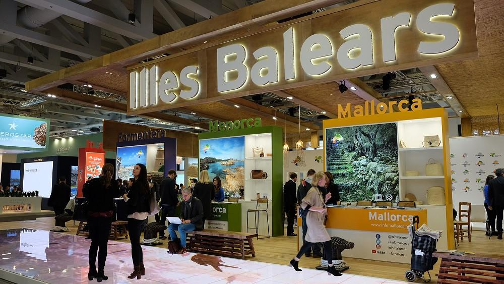 Imagen del stand de Balears en la feria.