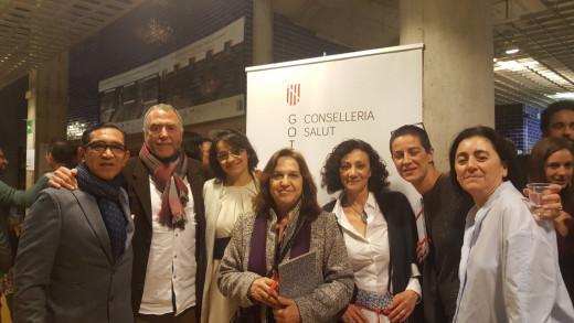 Imagen de la delegación menorquina que asistió a la entrega de premios.