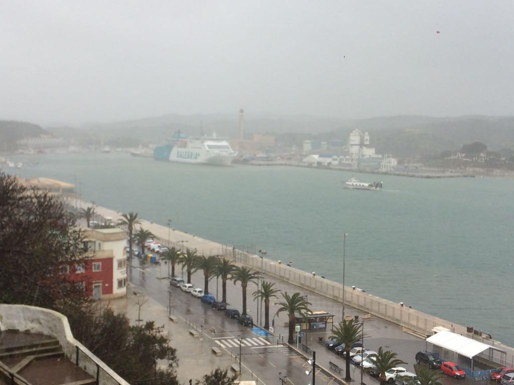 Los puertos de la Isla permanecerán cerrados por el temporal. (Foto: Tolo Mercadal)