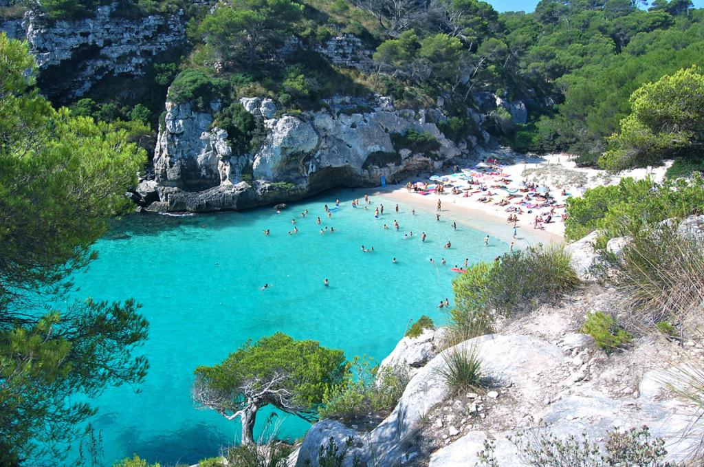 Playa de Macarella.