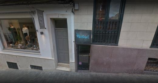 Imagen del bar que sufrió el robo.