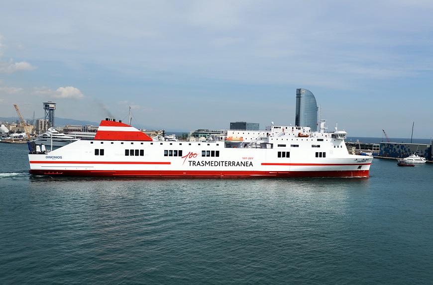 Imagen del buque Dimonios.