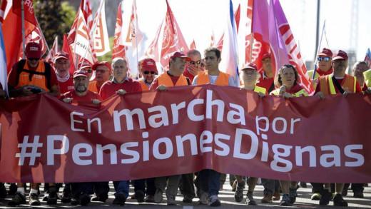 Manifestación en Madrid.