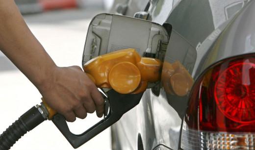 Repostaje de gasolina.