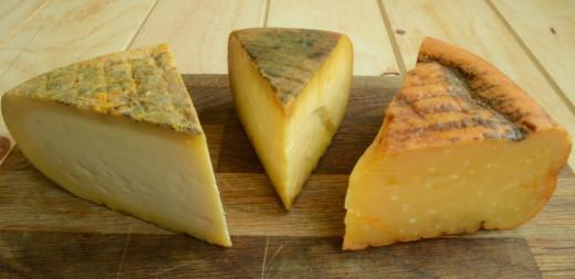 El queso reserva marida con el Brandy de Jerez
