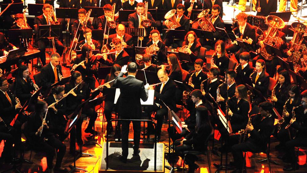 Imagen de la representación del musical (Fotos: Tolo Mercadal)