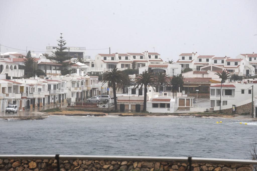 Temporal en la zona de Macaret (Foto: Tolo Mercadal)