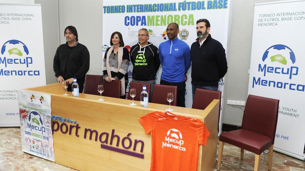 Imagen de la presentación del torneo (Fotos: Tolo Mercadal)