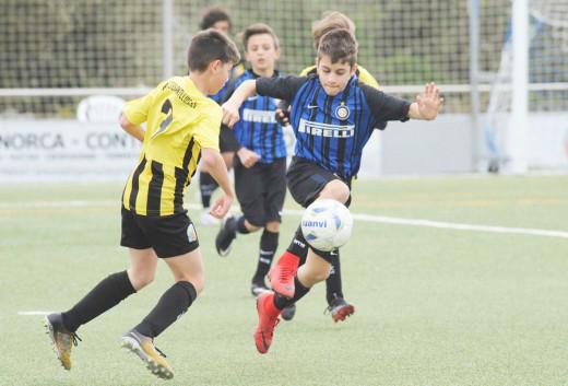 Imagen de un partido de la Mecup (Foto: Tolo Mercadal)