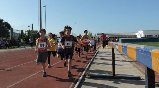 Imagen de la carrera de los 500 metros (Foto: Maria Arguimbau)