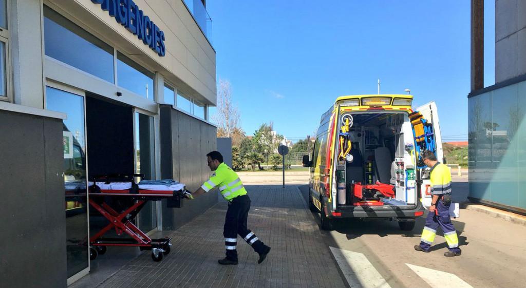 Primeros servicios de las nuevas ambulancias (Foto:  Area Salut Menorca)