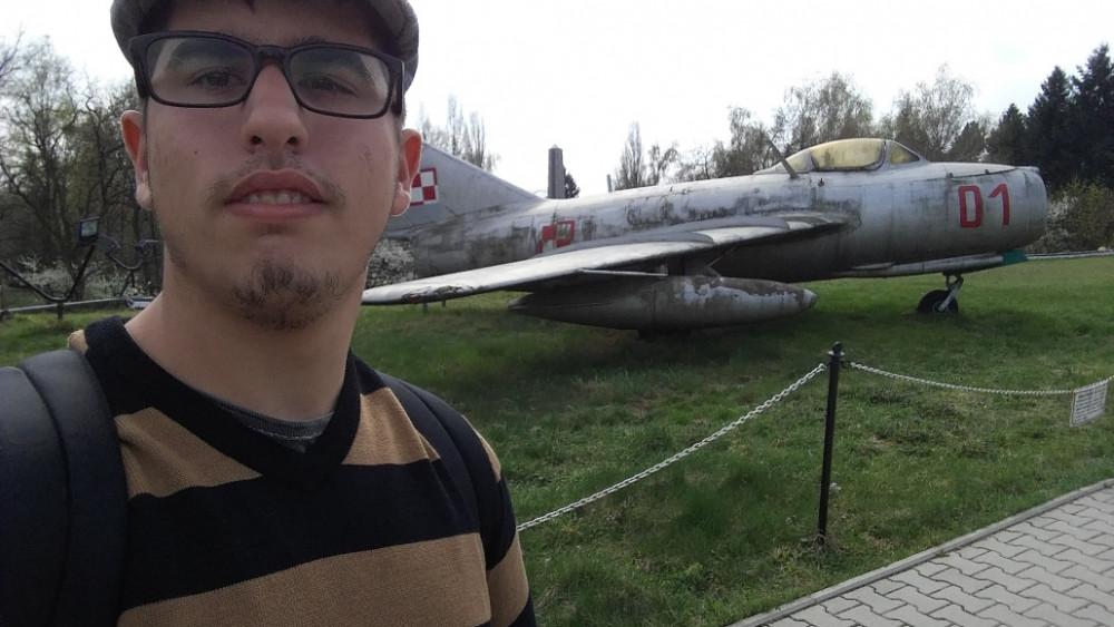 Daniel Pons Villalonga al Museu de la 2a Guerra Mundial de Poznan