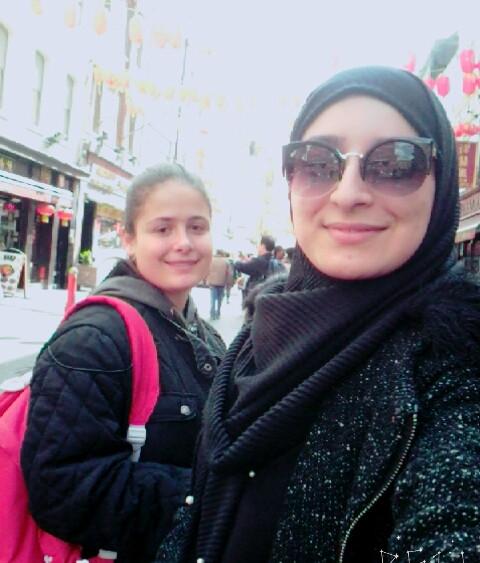 Gisselle Gerez i Fátima El Hajoui