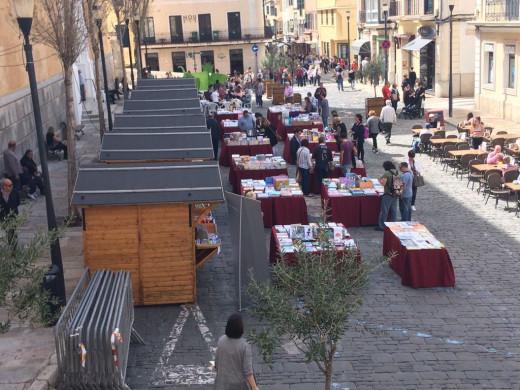 Las actividades para conmemorar el día de Sant Jordi han tenido buena acogida. Foto: Tolo Mercadal