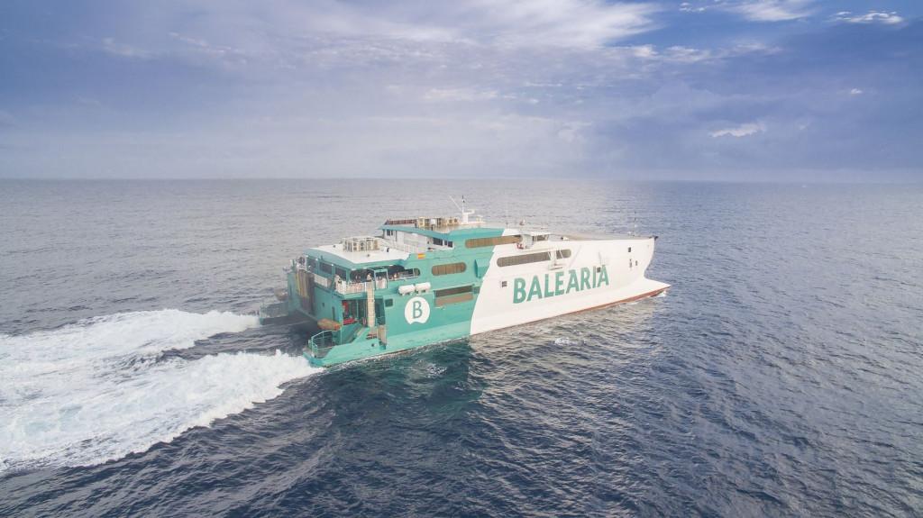 Imagen del buque Jaume II.