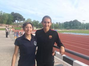 Lita López y Marina Bagur.