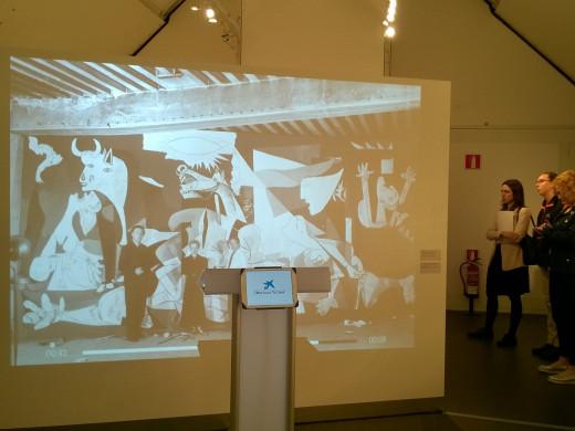 El viaje del Gernica explicado paso a paso en Ciutadella
